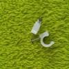 浙江省江山市金朋塑料制品厂专业生产,供应塑料钢钉卡钉  边卡,
