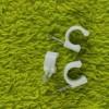 厂家直销塑料钢钉线管卡,线卡,国标B,100只装